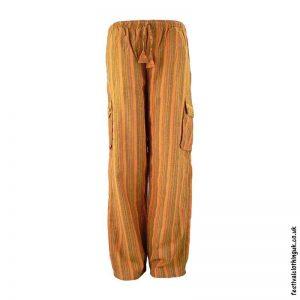 Festival-Cargo-Trousers-Striped-Orange