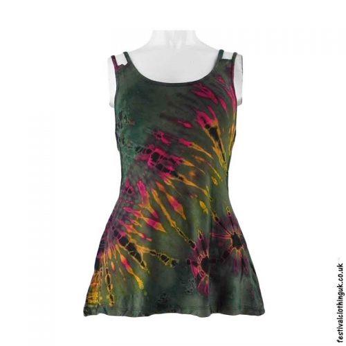 Green-Tie-Dye-Multi-Strap-Festival-Vest-Top