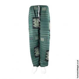 Heavy-Cotton-Festival-Trousers-Green