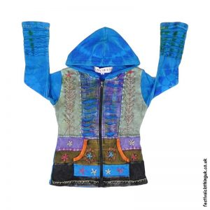 Kids-Multicoloured-Embroidery-Hooded-Festival-Jacket