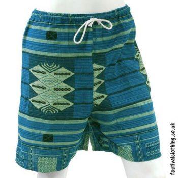 Long-Blue-Cotton-Festival-Shorts
