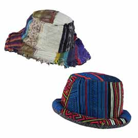 Patchwork Hats