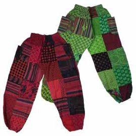 Patchwork Harem Genie Pants