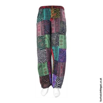 Patchwork-Multicoloured-Swirl-Trousers