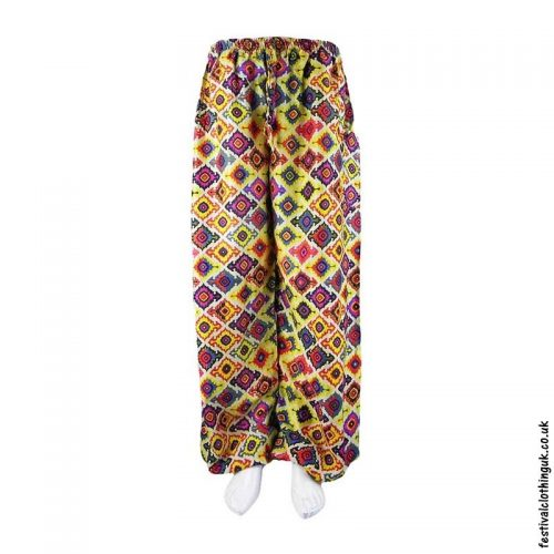 Patterned-Harem-Festival-Pants-Yellow