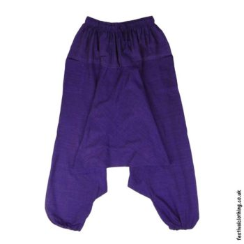 Plain-Harem-Ali-Baba-Festival-Pants-Purple