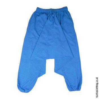 Plain-Harem-Ali-Baba-Festival-Pants-Turquoise
