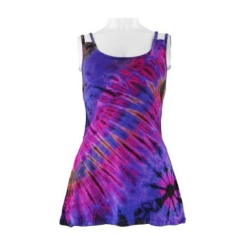Purple-Tie-Dye-Multi-Strap-Festival-Vest-Top