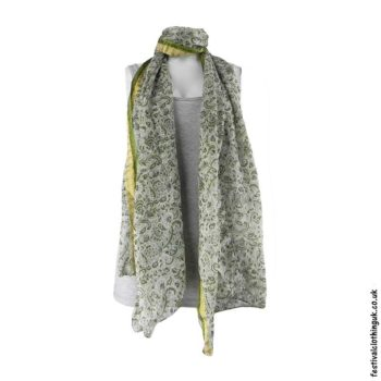 White-Recycled-Indian-Sari-Festival-Scarf