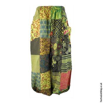 Yellow-Patchwork-Harem-Festival-Pants