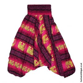 Ali-Baba-Harem-Festival-Pants-Pink-Elephant