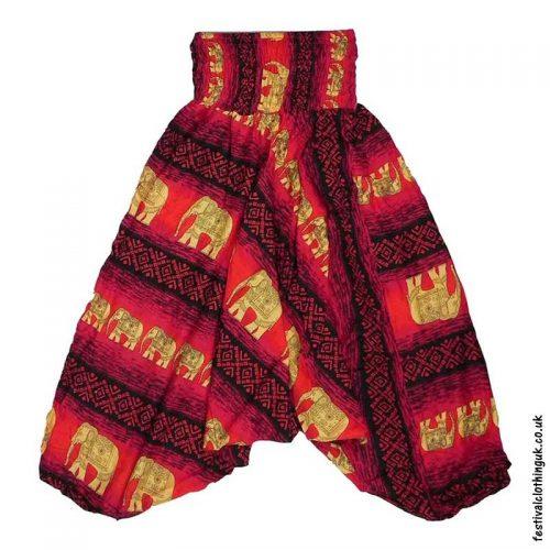 Ali-Baba-Harem-Festival-Pants-Red-Elephant