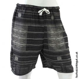 Long-Black-Cotton-Festival-Shorts