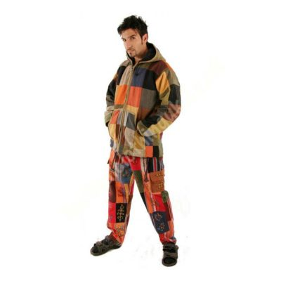 Patchwork-Fleece-Lined-Trousers