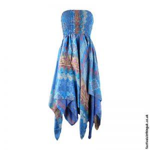 Blue-Pixie-Hem-2-in-1-Recycled-Sari-Festival-Dress