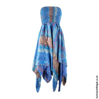 Blue-Pixie-Hem-2-in-1-Recycled-Sari-Festival-Dress