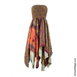 Colour-Mix-Pixie-Hem-2-in-1-Recycled-Sari-Festival-Dress
