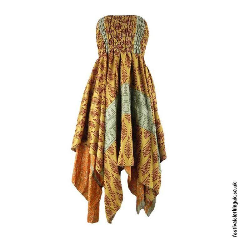 Gold-Pixie-Hem-2-in-1-Recycled-Sari-Festival-Dress