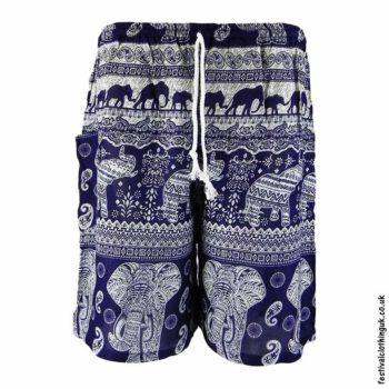 Male-Elephant-Festival-Long-Shorts-Dark-Blue