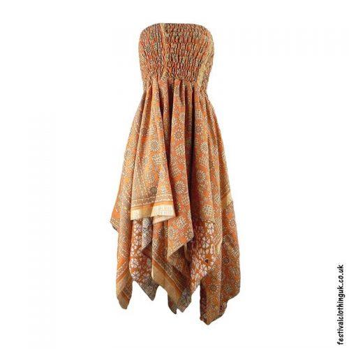 Orange-Pixie-Hem-2-in-1-Recycled-Sari-Festival-Dress