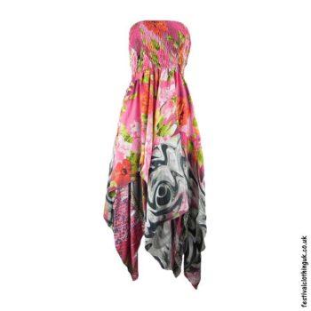 Pink-Pixie-Hem-2-in-1-Recycled-Sari-Festival-Dress
