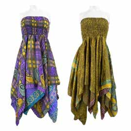 Pixie Hem 2 in 1 Dresses