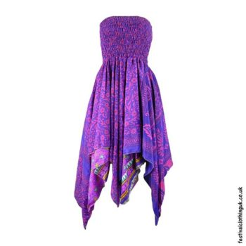Purple-Pixie-Hem-2-in-1-Recycled-Sari-Festival-Dress