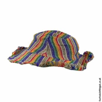Striped-Hemp-Rainbow-Hat