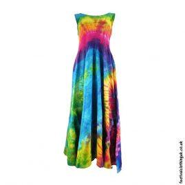 Tie-Dye-Two-in-One-Ruffle-Festival-Dress-Multicoloured