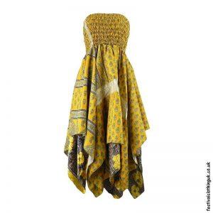 Yellow-Pixie-Hem-2-in-1-Recycled-Sari-Festival-Dress