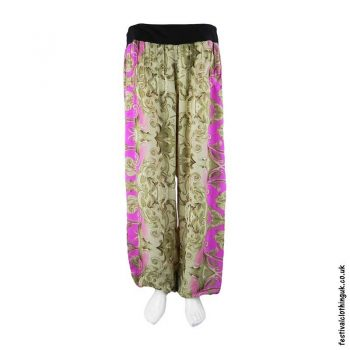 Beige-Pink-Recycled-Sari-Festival-Trousers