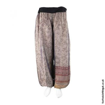 Brown-Recycled-Sari-Festival-Trousers