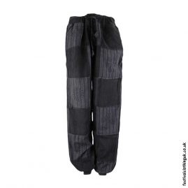 Charcoal-Over-Dyed-Patchwork-Festival-Trousers