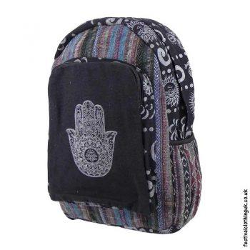 Gheri-Cotton-Hamsa-Hand-Festival-Backpack