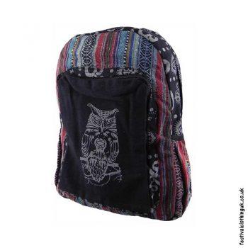 Gheri-Cotton-Owl-Festival-Backpack
