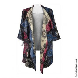 Long-Acrylic-Festival-Shrug-Black