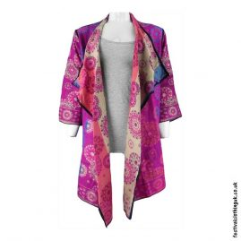Long-Acrylic-Festival-Shrug-Pink