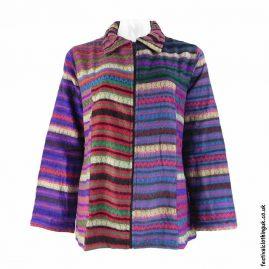 Multicoloured-Acrylic-Festival-Blanket-Jacket