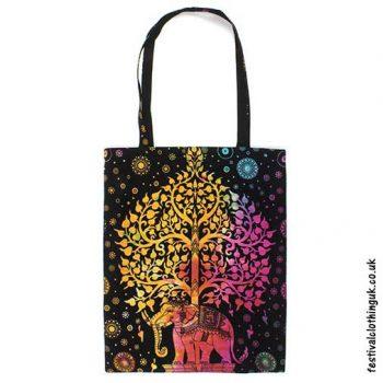 Re-usable-Elephant-Tree-Cotton-Festival-Shopping-Bag