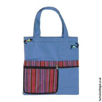 Re-usable-Fold-Out-Shopping-Bag-Blue