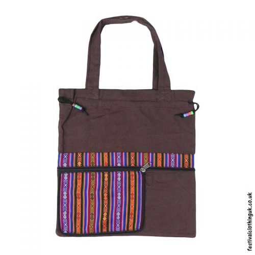 Re-usable-Fold-Out-Shopping-Bag-Brown