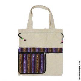 Re-usable-Fold-Out-Shopping-Bag-Cream