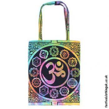 Re-usable-Multicoloured-Om-Cotton-Festival-Shopping-Bag