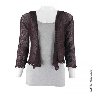 Single-Knit-Bali-Festival-Shrug-Brown