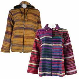 Acrylic Jackets and Hoodies