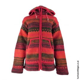 Festival-Wool-Jacket-with-Removable-Hood-Red