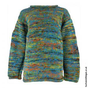 Festival-Wool-Jumper-Turquoise-Tie-Dye