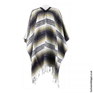 Mexican-Poncho-Beige