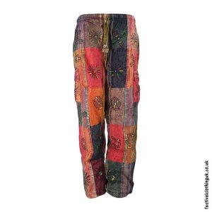 Patchwork-Fleece-Lined-Festival-Trousers