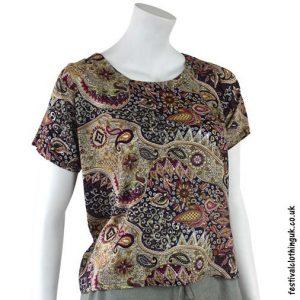 Purple-Batik-Patterned-Paisley-Blouse